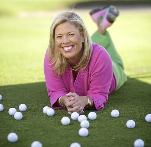 Michelle mcgann golf balls